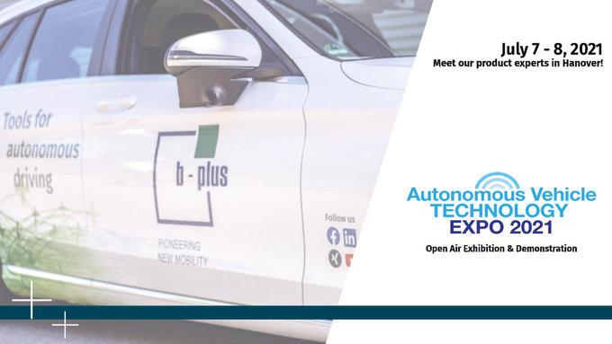 b-plus at AVTE 2021 in Hanover
